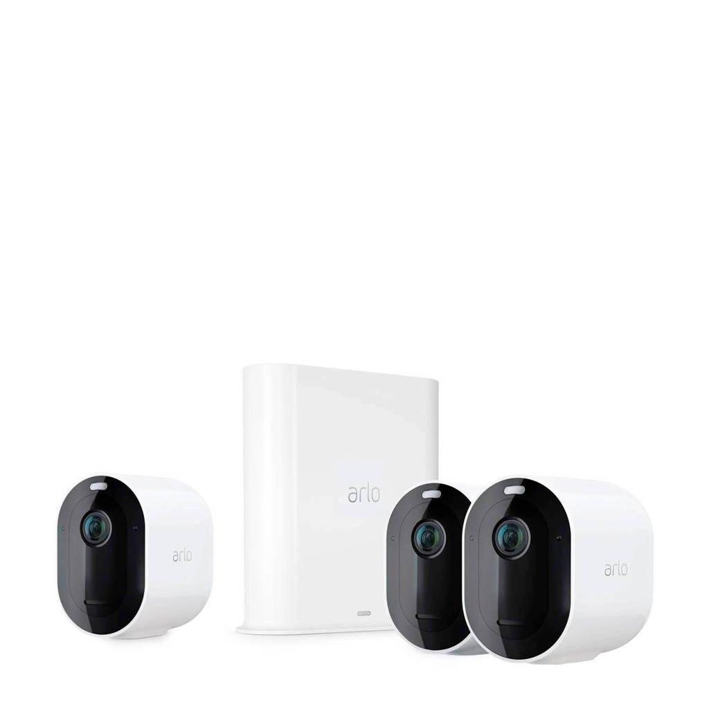 Arlo Pro 3 beveiligingscamera, Zwart, wit