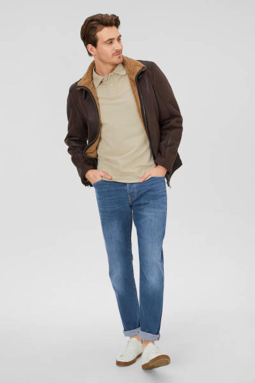 C&A The Denim loose fit jeans blauw, Blauw