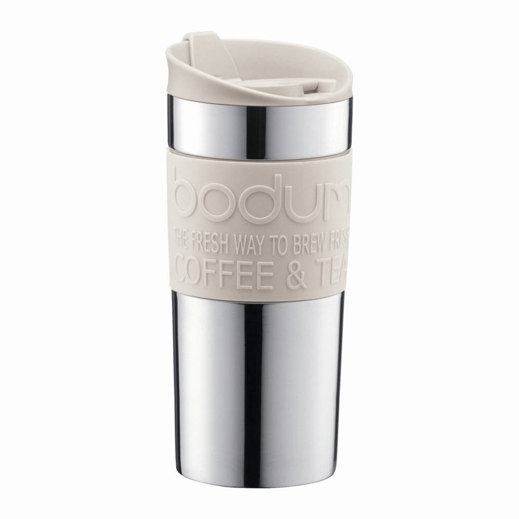 Bodum thermosbeker Travel mug (0.35 liter), Creme