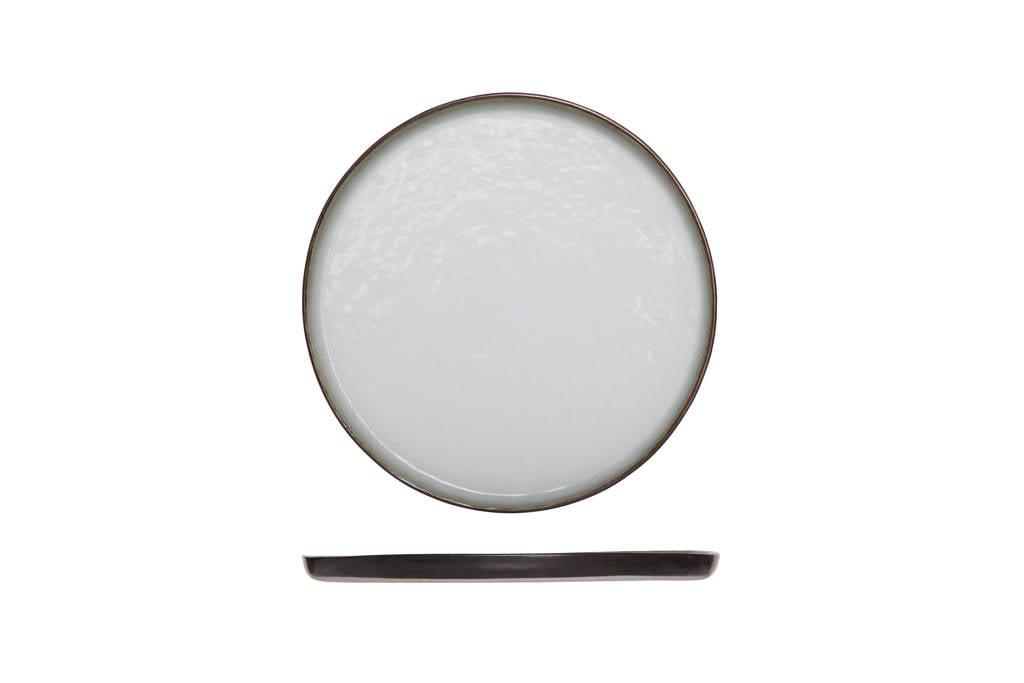 Cosy & Trendy dessertbord Plato (Ø21.5 cm), Bruin,Wit