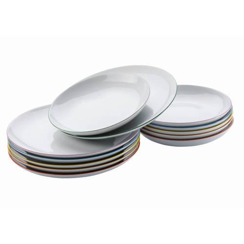 Wehkamp-Arzberg bordenset Cucina Colori (12-delig)-aanbieding