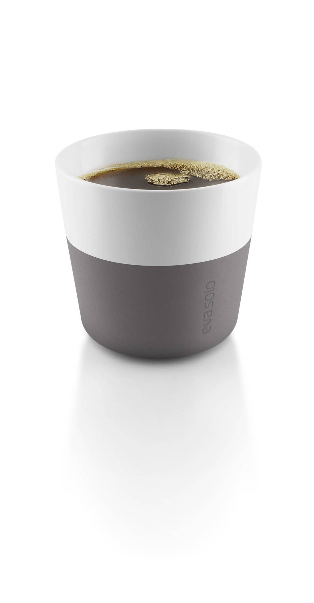 Eva Solo koffiemok (23 cl) (2 stuks), Wit,Grijs