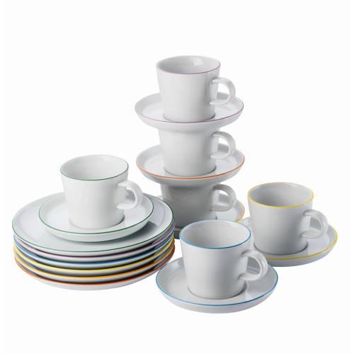 Wehkamp-Arzberg serviesset Cucina Colori (18-delig)-aanbieding