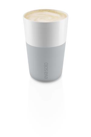 cafe latte mok marmer (36 cl) (2 stuks)