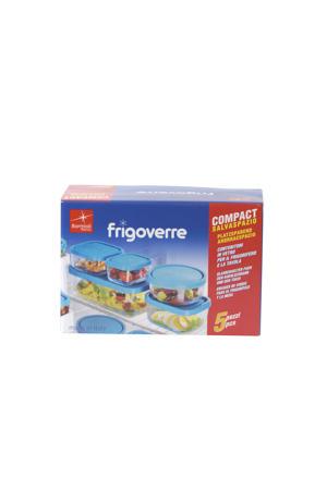 Frigoverre vershoudbakjes(5-delig)