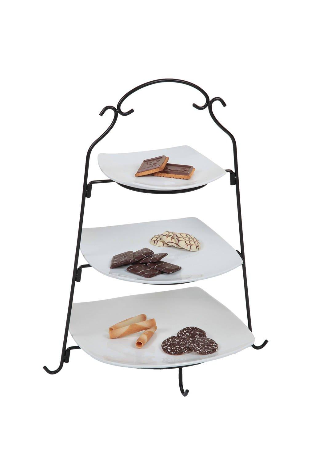 Cosy & Trendy buffet etagere, Zwart,wit