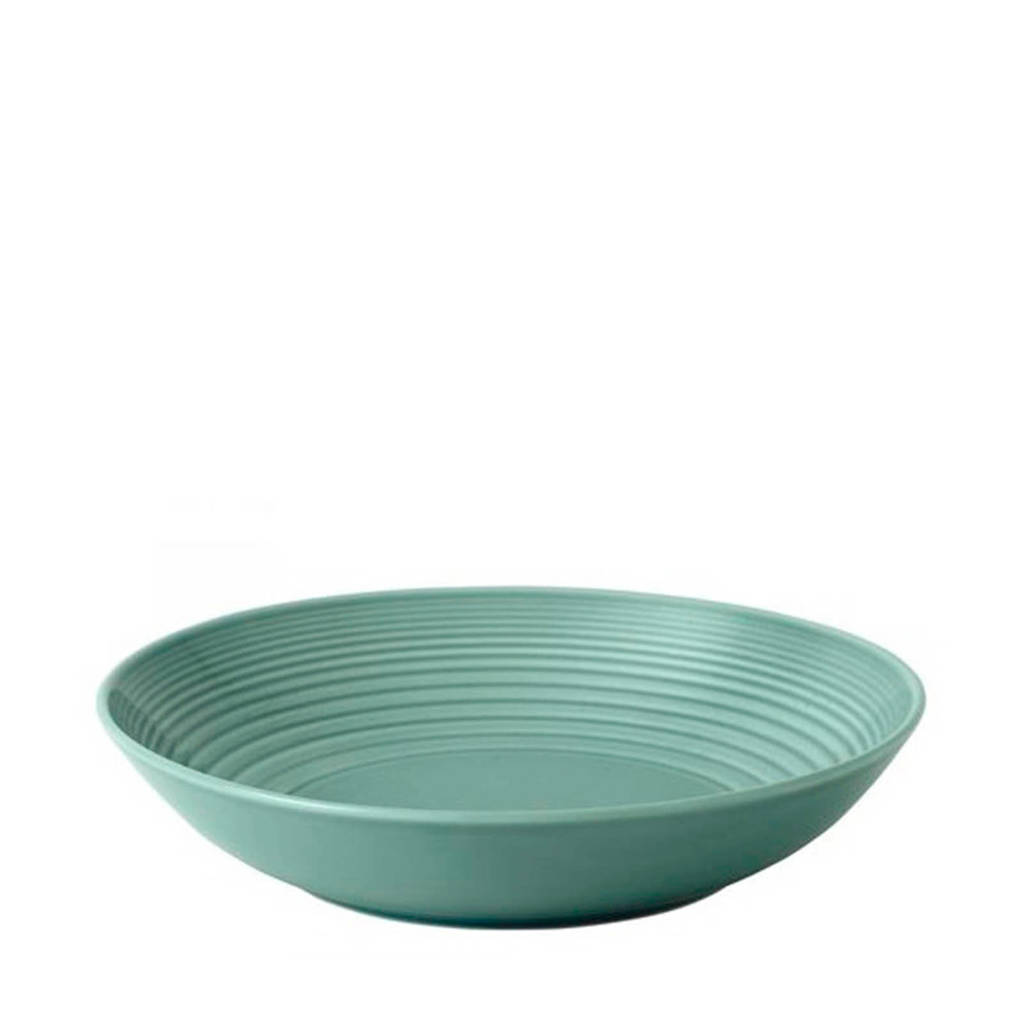 Royal Doulton Gordon Ramsay pastabord Maze (Ø24 cm), Blauw,Groen