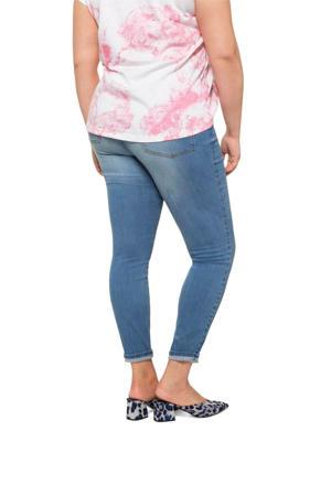 slim fit jeans broek lichtblauw
