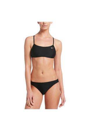 crop bikini zwart