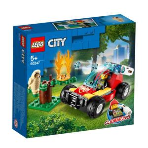 Brandweer bosbrand 60247