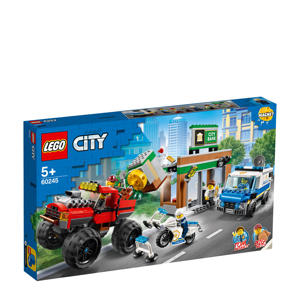 Politiemonstertruck overval 60245