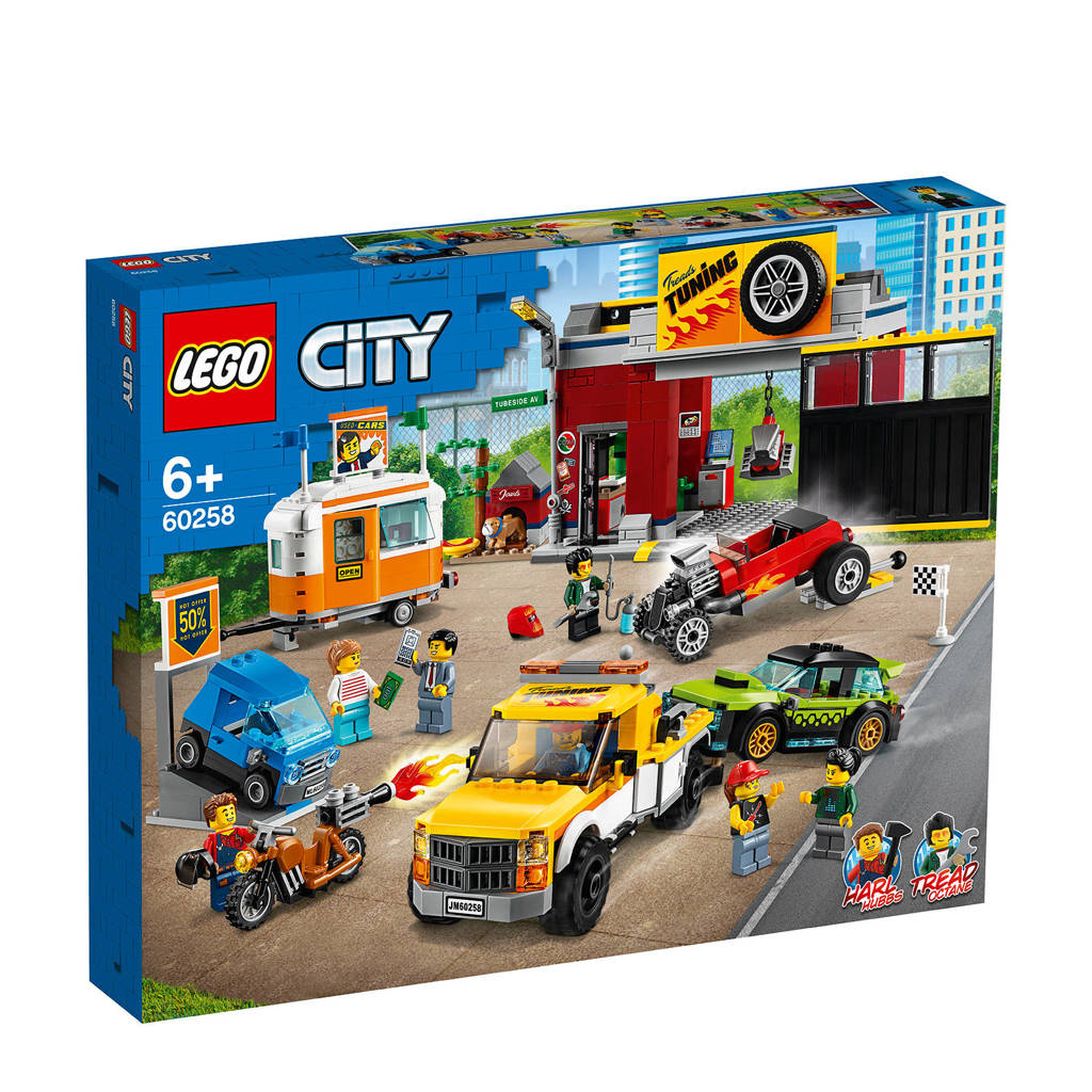 LEGO City Tuningworkshop 60258