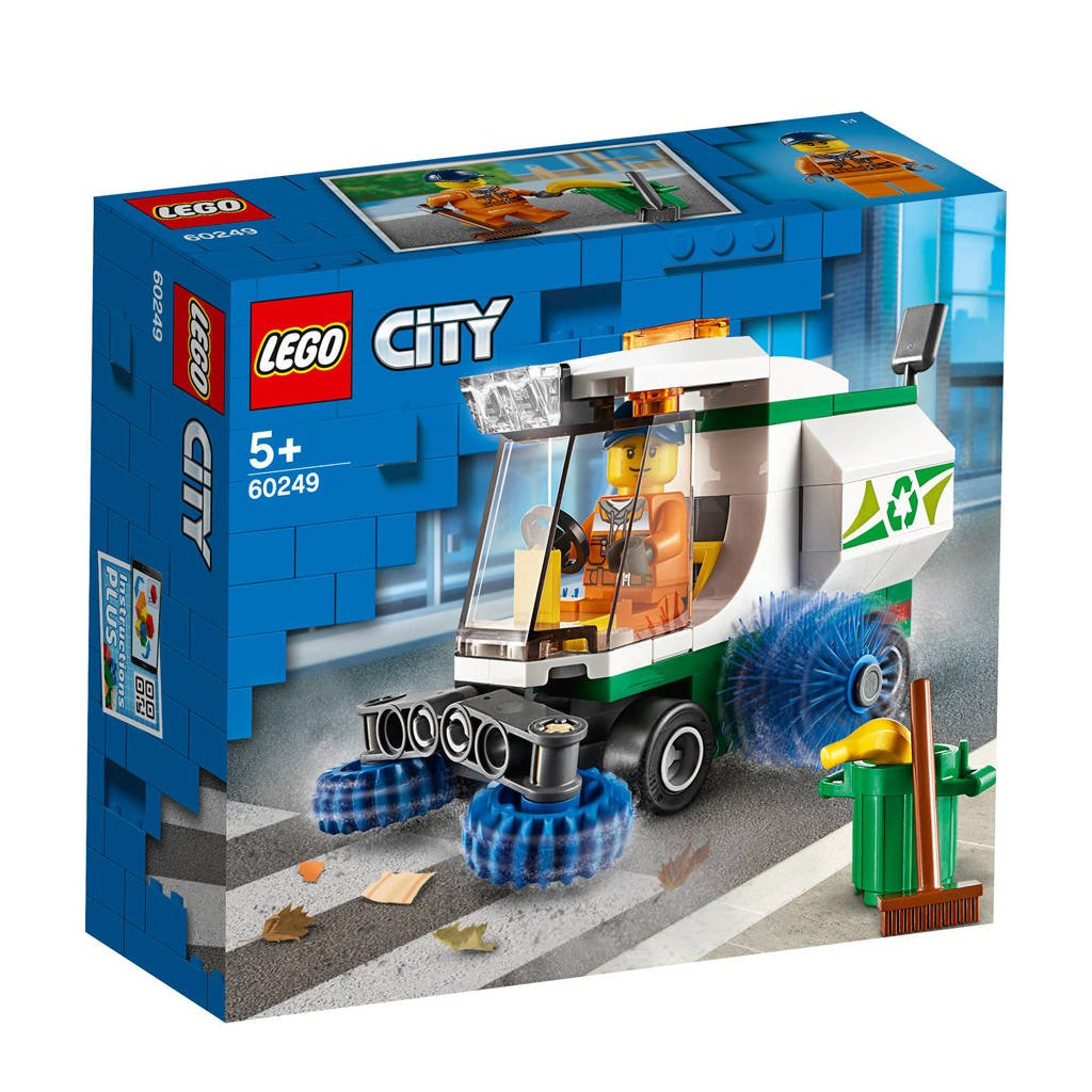 LEGO City Straatveegmachine 60249