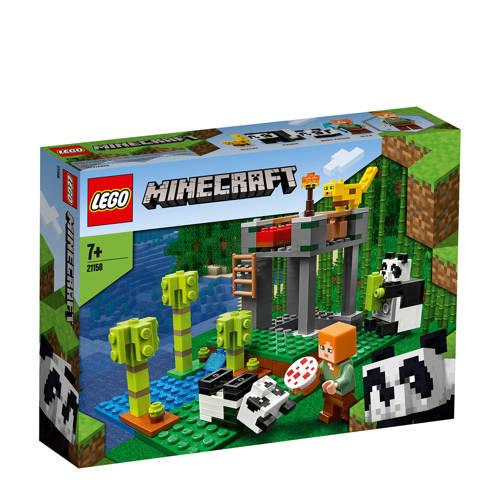 LEGO Minecraft Het Pandaverblijf