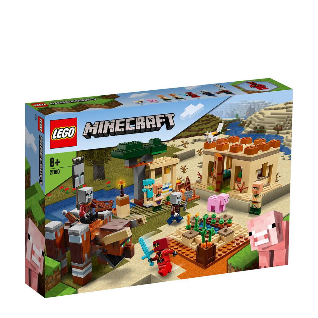 LEGO Minecraft De illagar overval 21160