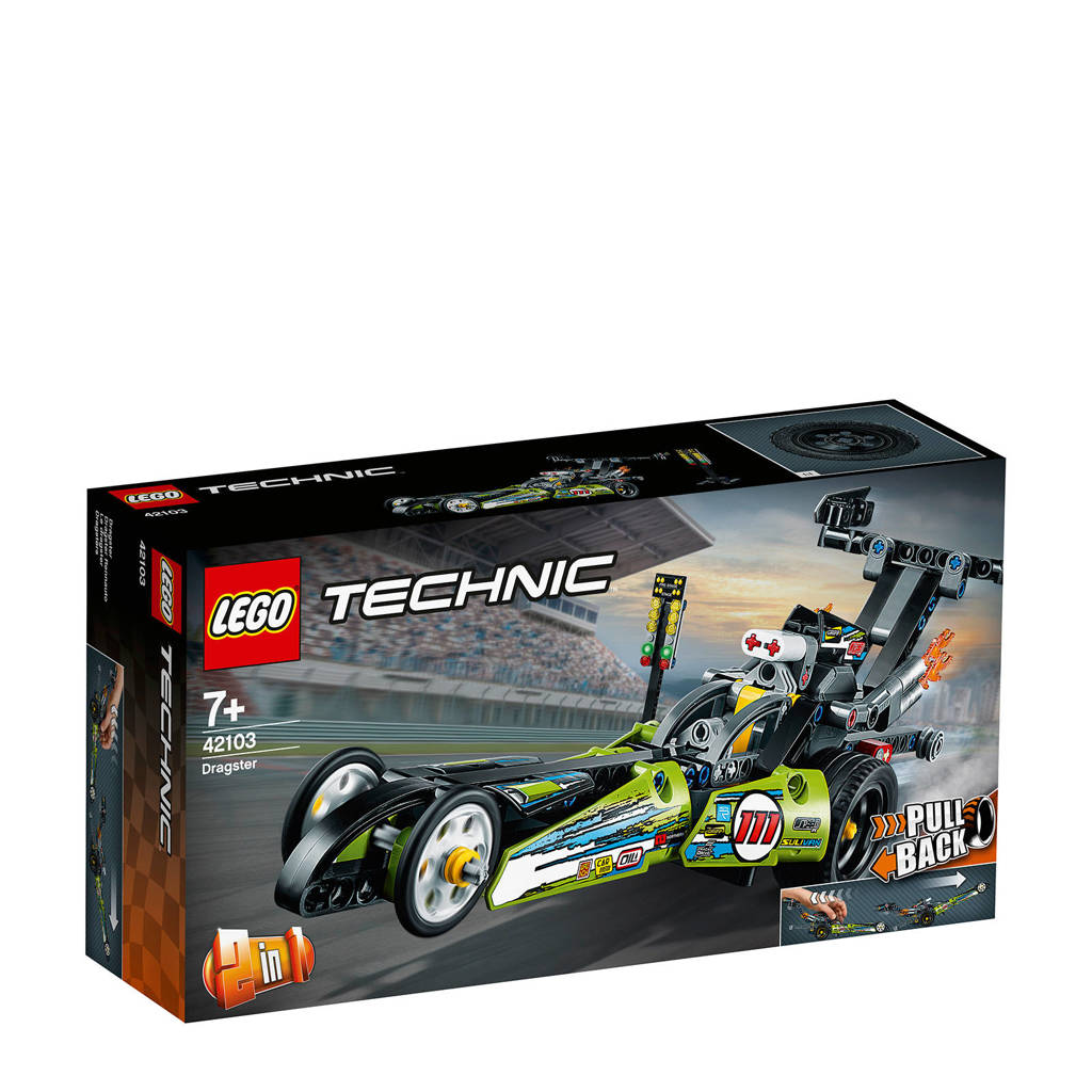 LEGO Technic Dragster 42103