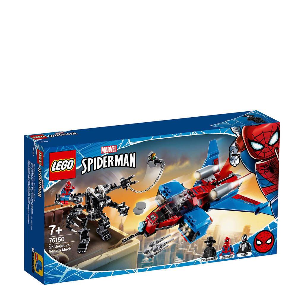 LEGO Super Heroes Marvel Spiderjet vs. Venom Mech 76150