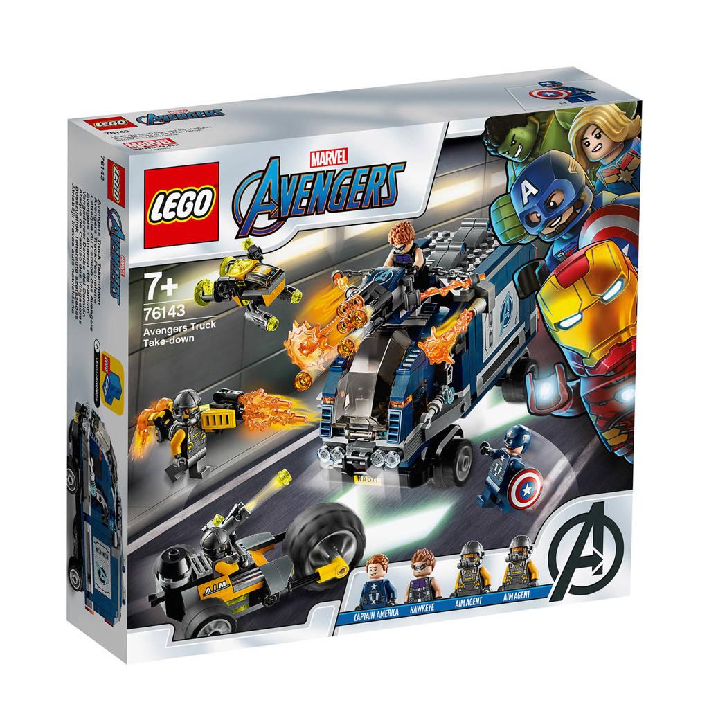 LEGO Super Heroes Avengers Vrachtwagen Arrestattie 76143
