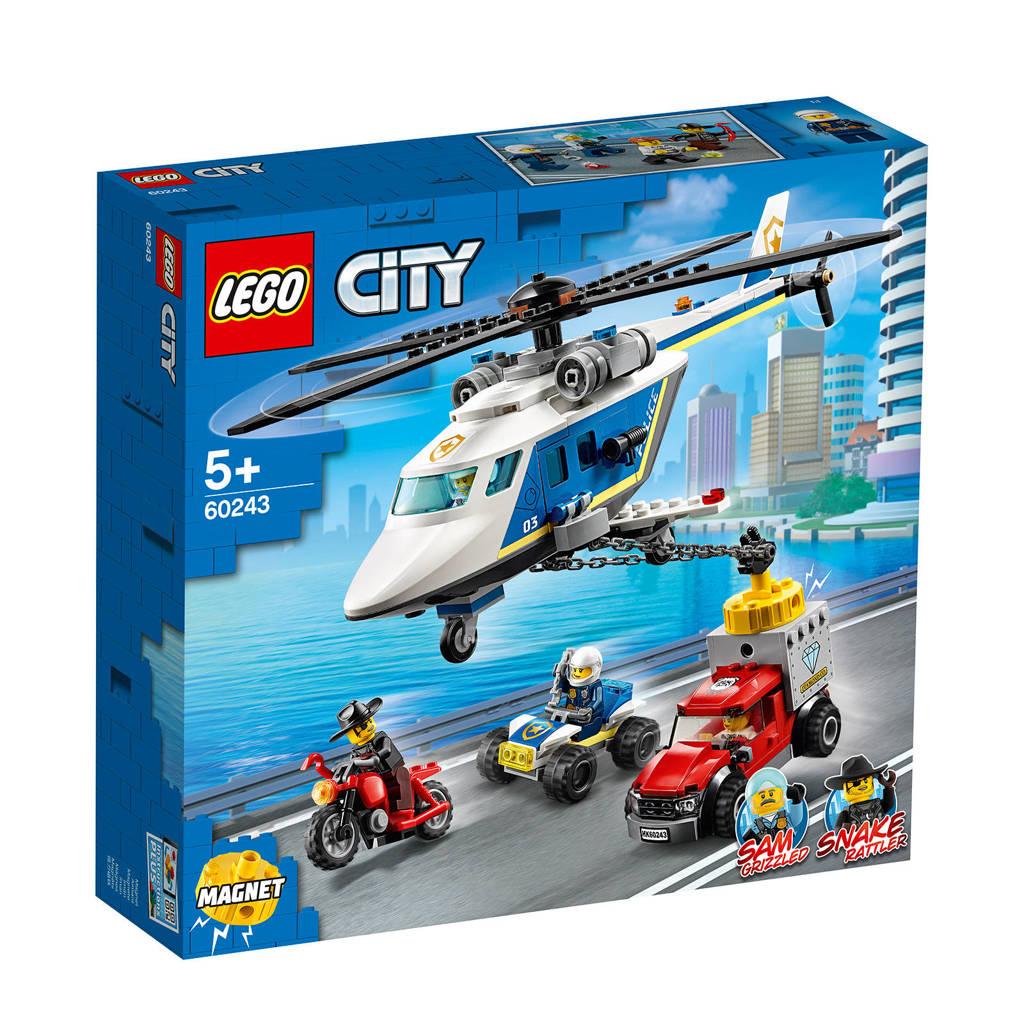 LEGO City Politiehelikopter achtervolging 60243