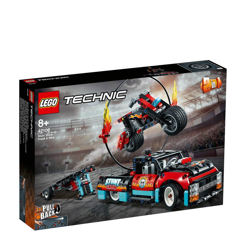 LEGO Technic Stunt Show Truck &  Motor 42106