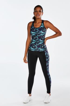 sportbroek zwart/blauw