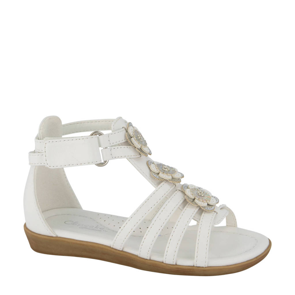 Cupcake Couture   sandalen wit, Wit