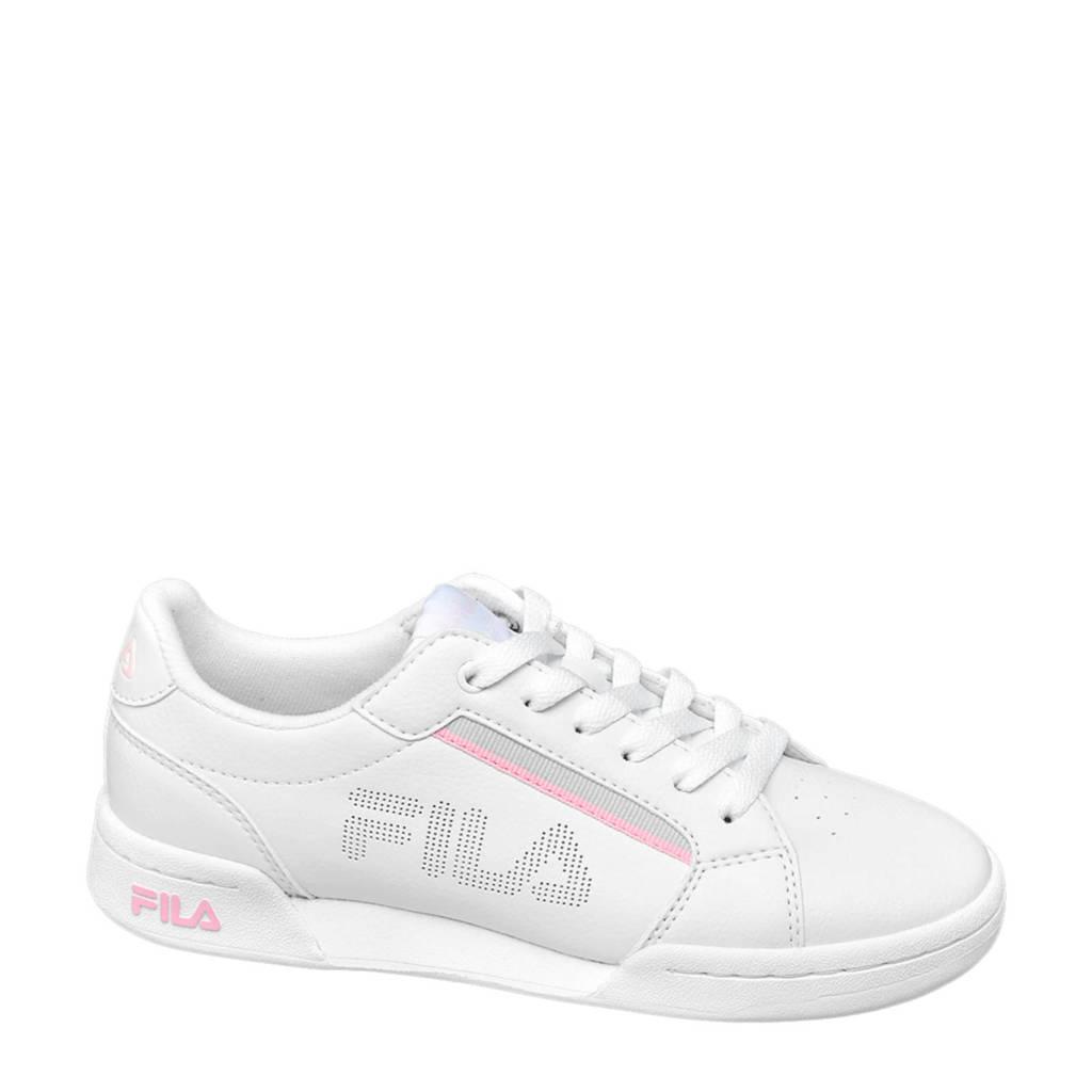 Fila Court  sneakers grijs/roze, Wit/roze/grijs