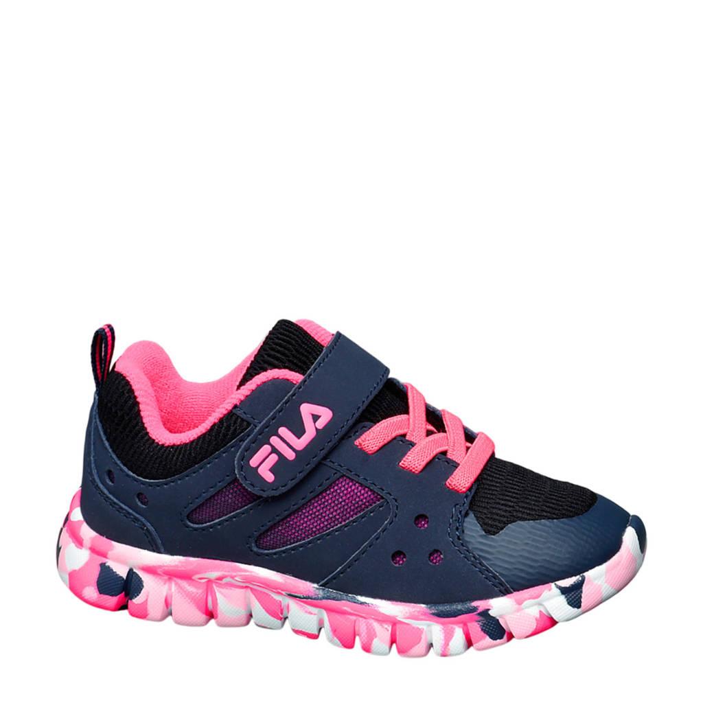 Fila   sneakers blauw/roze, Blauw/roze