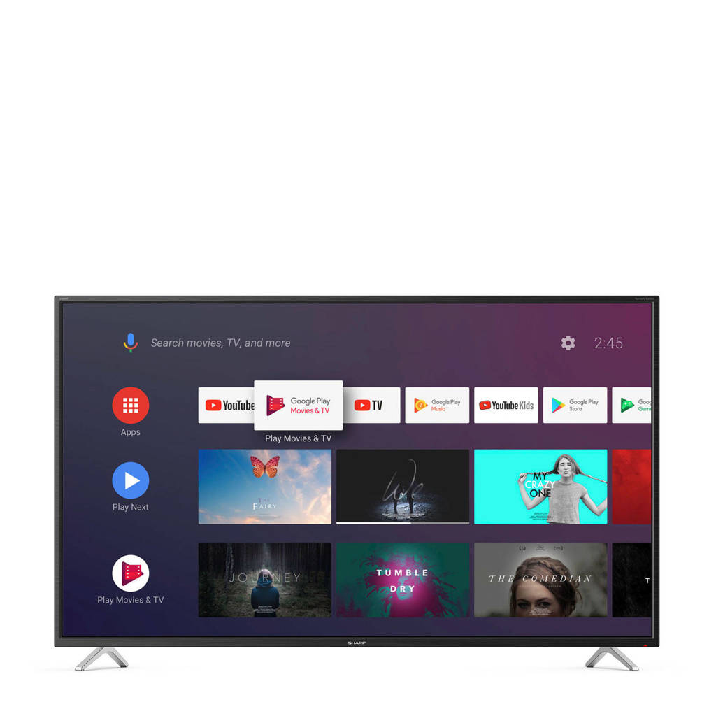 Sharp 55BL2 4K Ultra HD Smart tv, Zwart