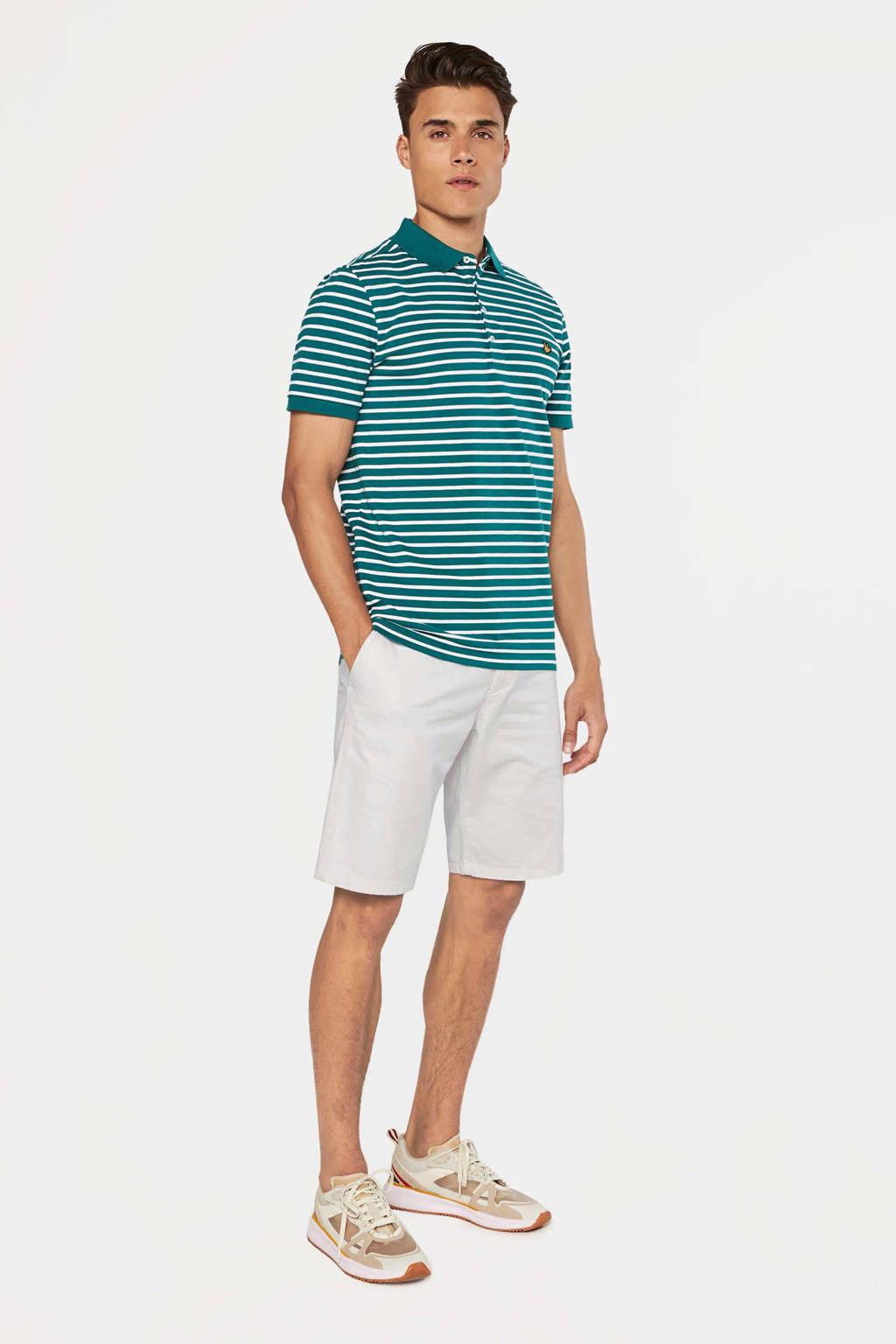 WE Fashion regular fit bermuda wit, Wit