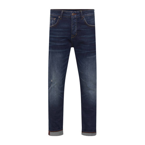 WE Fashion Blue Ridge loose fit jeans dirty denim