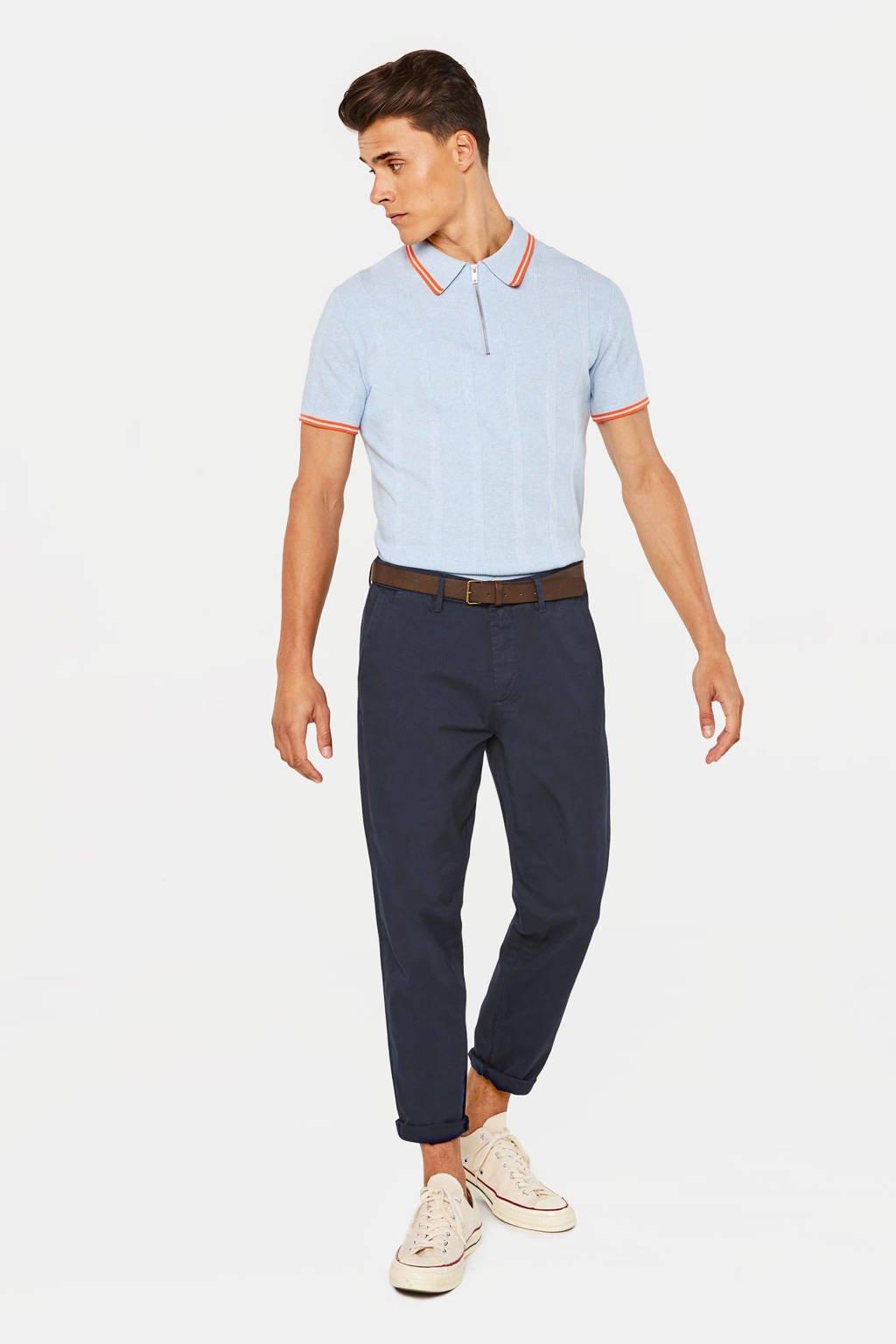WE Fashion slim fit chino royal navy, Royal Navy