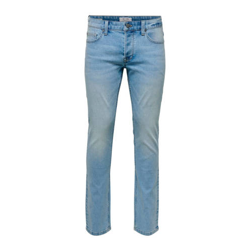 ONLY & SONS PLUS slim fit jeans blauw