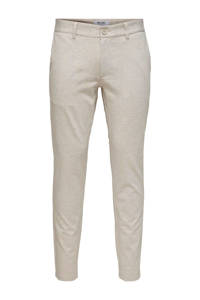 ONLY & SONS slim fit chino beige, Beige