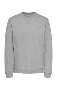 ONLY & SONS gemêleerde sweater grijs, Grijs