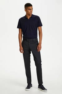 Matinique slim fit polo donkerblauw, Donkerblauw