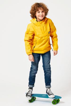 zomerjas anorak Jered geel/zwart