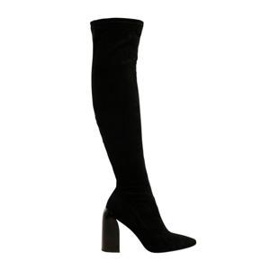 overknee laarzen zwart