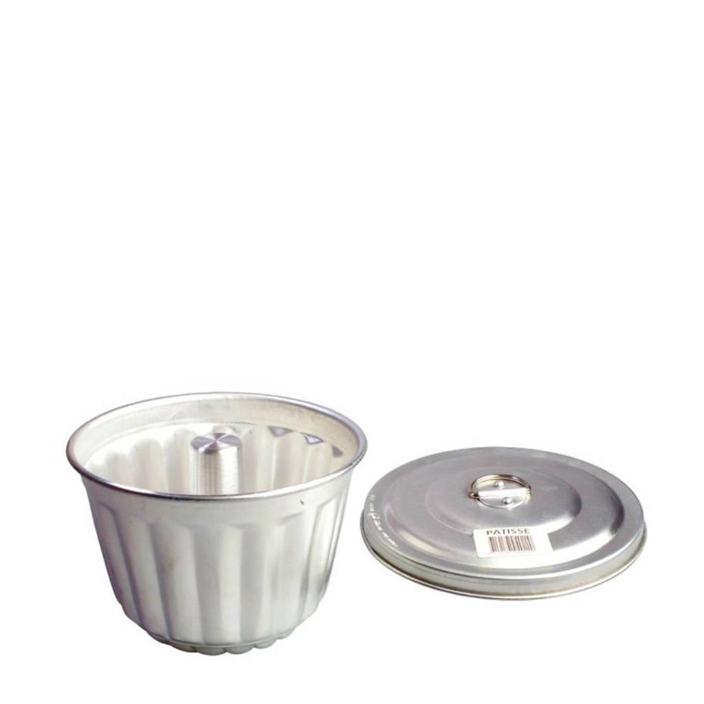 Patisse puddingvorm, Zilverkleurig
