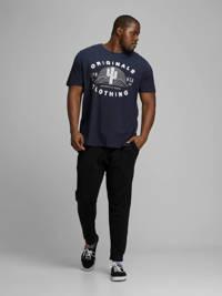 JACK & JONES PLUS SIZE T-shirt met printopdruk donkerblauw, Donkerblauw