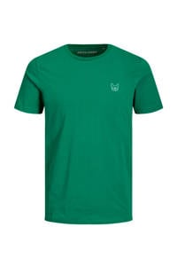 JACK & JONES ESSENTIALS T-shirt met logo groen, Groen