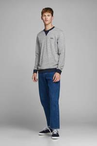 JACK & JONES ORIGINALS sweater met logo grijs, Grijs