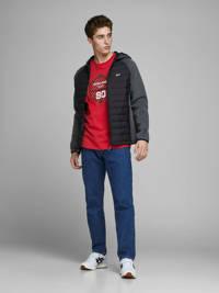 JACK & JONES CORE T-shirt met printopdruk rood, Rood