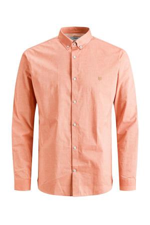 regular fit overhemd oranje