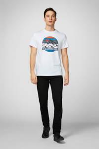 PRODUKT T-shirt met printopdruk wit, Wit