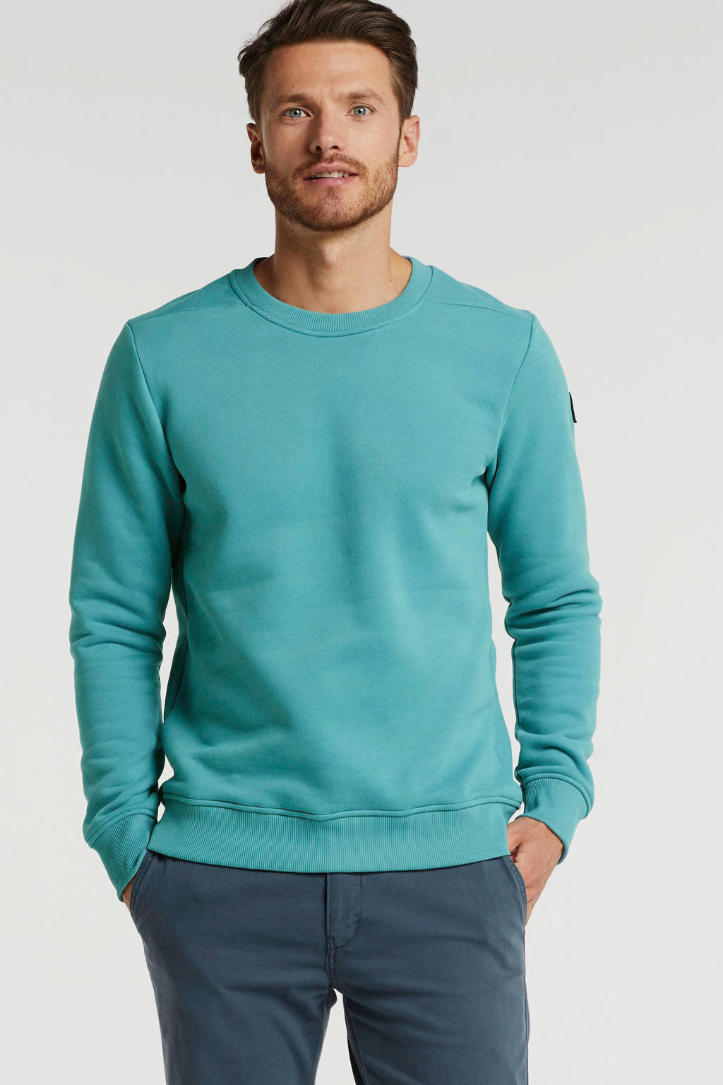 JACK & JONES PREMIUM sweater adriatic blue, Adriatic Blue