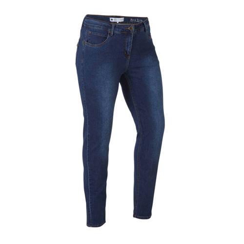 Zhenzi slim fit jeans blauw