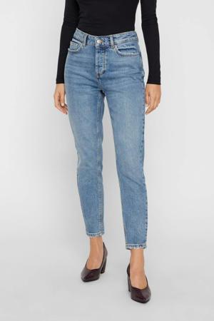 high waist slim fit jeans blauw