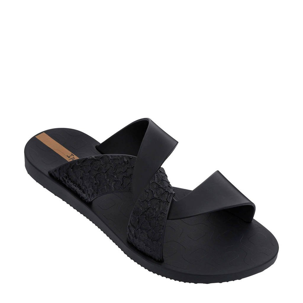 Ipanema  Move slippers zwart, Zwart
