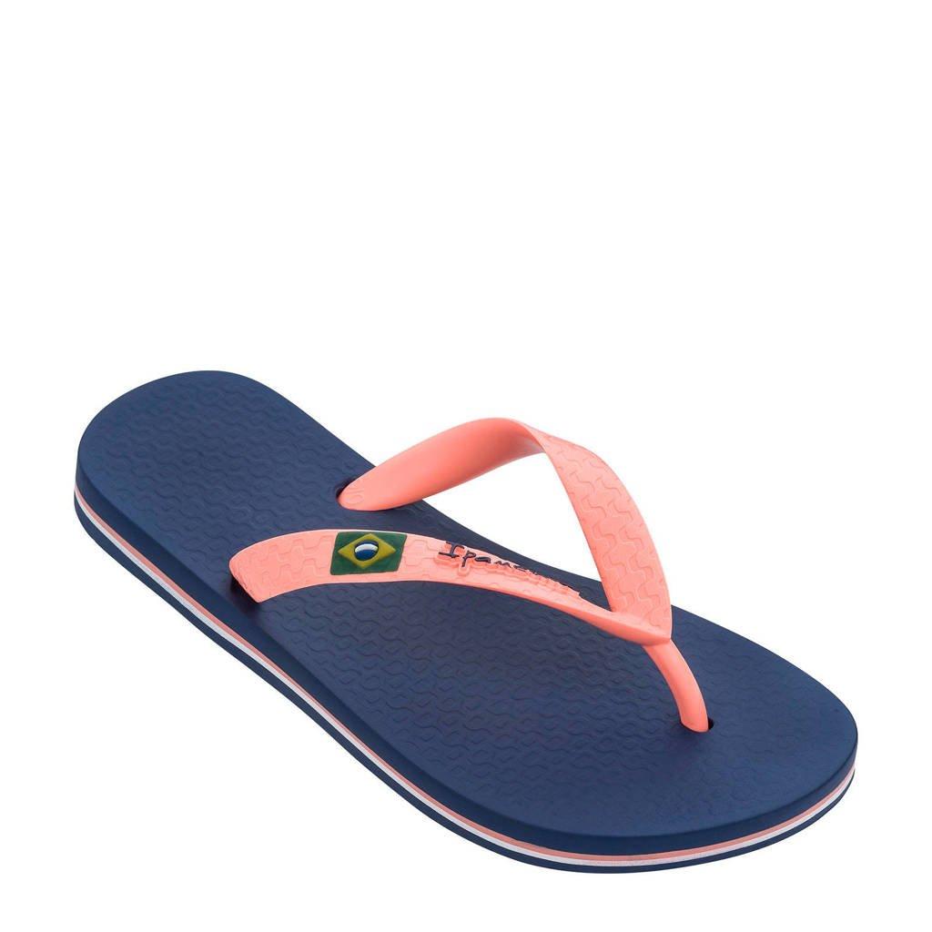 Ipanema  Classic Brasil teenslippers blauw/roze, Blauw/roze